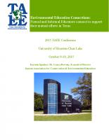 2015 TAEE Program